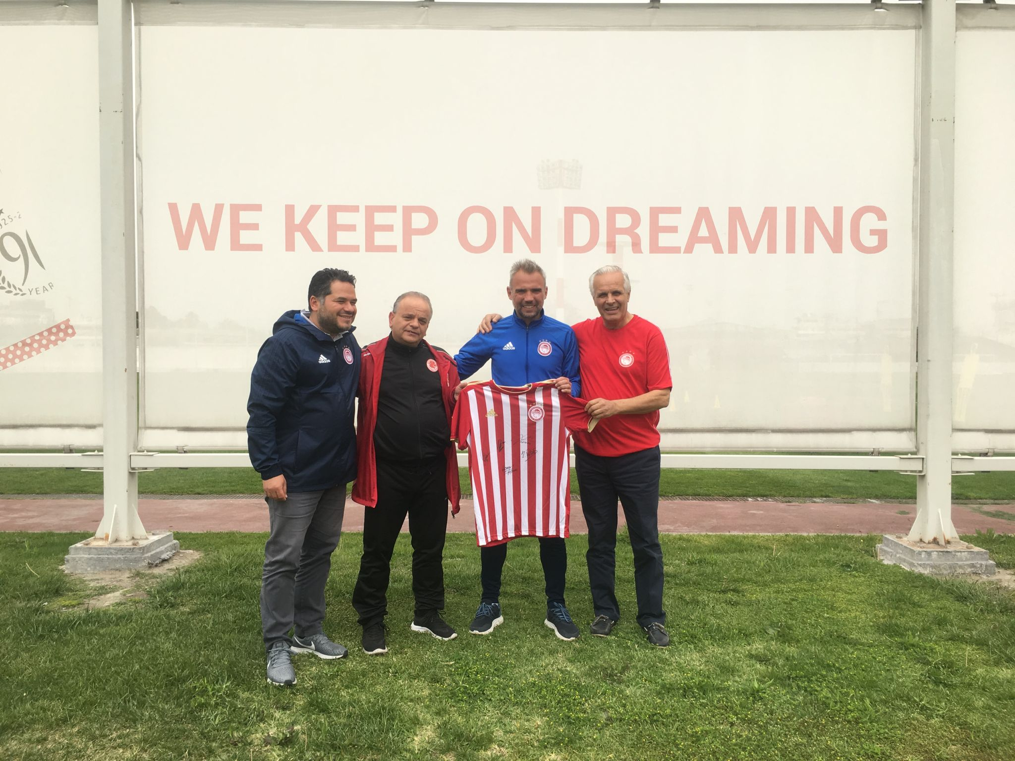 Olympiacos Melbourne Launch in Greece