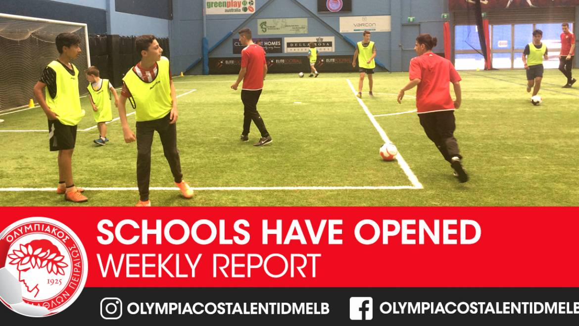 Olympiacos Saturday Talent ID Schools open with a huge success