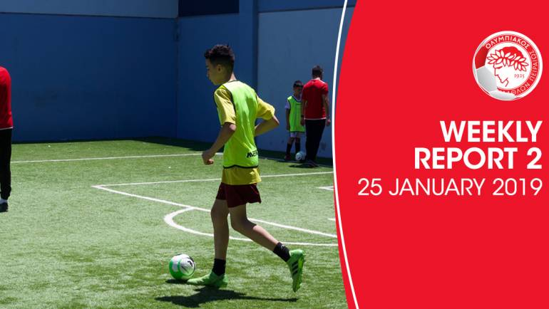 25 Jan 2020 – A positive result from our 2nd session